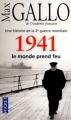 Couverture Une histoire de la Deuxième Guerre mondiale, tome 2 : 1941, le monde prend feu Editions Pocket 2012