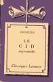 Couverture Le Cid Editions Larousse (Classiques) 1959
