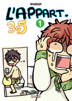 Couverture L'appart 305, tome 1