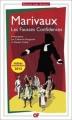 Couverture Les fausses confidences Editions Flammarion (GF) 2012