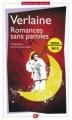 Couverture Romances sans paroles Editions Flammarion (GF) 2012