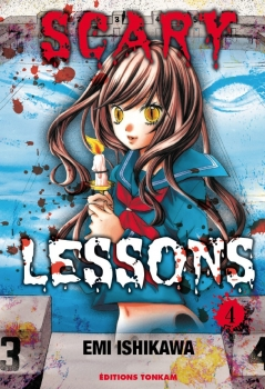 Couverture Scary Lessons, tome 04