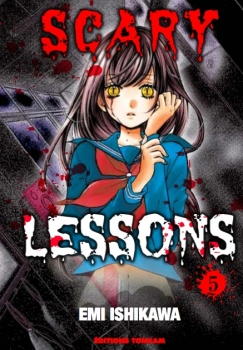 Couverture Scary Lessons, tome 05