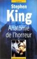Couverture Anatomie de l'horreur, tome 1 Editions du Rocher 1995