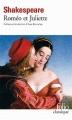 Couverture Roméo et Juliette Editions Folio  (Classique) 2010