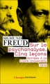 Couverture Cinq leçons sur la psychanalyse Editions Flammarion (Champs - Classiques) 2010