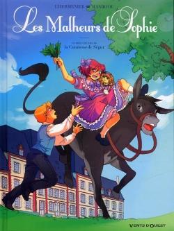 Couverture Les Malheurs de Sophie (BD L'Hermenier)