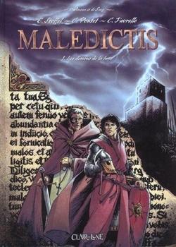 Couverture Maledictis, tome 1 : Les Démons de la Lune
