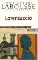 Couverture Lorenzaccio Editions Larousse (Petits classiques) 1999