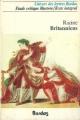 Couverture Britannicus Editions Bordas (Univers des lettres) 1977