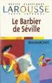 Couverture Le barbier de Séville Editions Larousse (Petits classiques) 1998