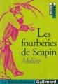 Couverture Les fourberies de Scapin Editions Gallimard  (La bibliothèque) 1998