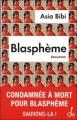 Couverture Blasphème Editions 2011