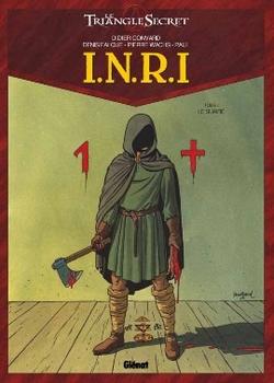 Couverture Le Triangle Secret : I.N.R.I, tome 1 : Le Suaire