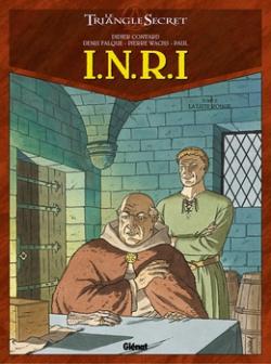 Couverture Le Triangle Secret : I.N.R.I, tome 2 : La liste rouge