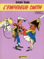 Couverture Lucky Luke, tome 45 : L'Empereur Smith Editions Dargaud 1976