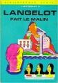 Couverture Langelot fait le malin Editions Hachette (Bibliothèque verte) 1972
