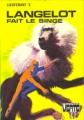 Couverture Langelot fait le singe Editions Hachette (Bibliothèque verte) 1974
