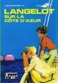 Couverture Langelot sur la Côte d'Azur Editions Hachette (Bibliothèque verte) 1976
