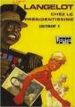 Couverture Langelot chez le Présidentissime Editions Hachette (Bibliothèque verte) 1978
