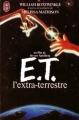 Couverture E.T. l'extra-terrestre Editions J'ai Lu 1982