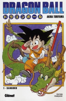 Couverture Dragon Ball, tome 01 : Sangoku