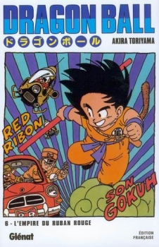 Couverture Dragon Ball, tome 06 : L'Empire du ruban rouge