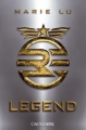 Couverture Legend, tome 1 Editions 2012
