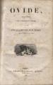Couverture Oeuvres complètes Editions J.-J. Dubochet et Compagnie 1838