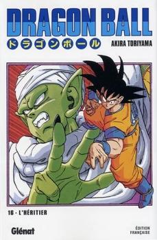 Couverture Dragon Ball, tome 16 : L'Héritier