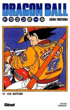Couverture Dragon Ball, tome 17 : Les Saïyens