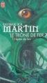 Couverture Le Trône de fer, tome 07 : L'Epée de feu Editions J'ai Lu (Fantasy) 2003