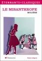 Couverture Le misanthrope / Le misanthrope ou l'atrabilaire amoureux Editions Flammarion (GF - Etonnants classiques) 2011