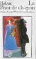 Couverture La peau de chagrin Editions Folio  1985
