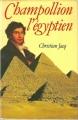 Couverture Champollion l'égyptien Editions France Loisirs 1987