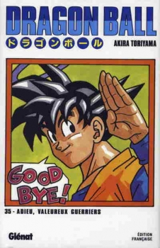 Couverture Dragon Ball, tome 35 : L'adieu de Sangoku