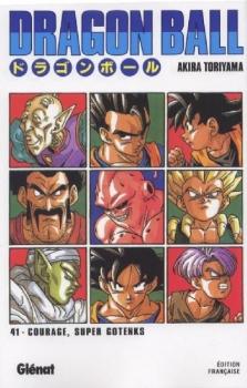 Couverture Dragon Ball, tome 41 : Super Gotenks