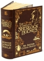Couverture Sherlock Holmes, intégrale Editions Barnes & Noble (Classic edition - Leatherbound) 2009