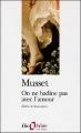 Couverture On ne badine pas avec l'amour Editions Folio  (Théâtre) 2001