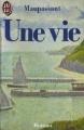 Couverture Une vie Editions J'ai Lu 1986