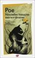 Couverture Nouvelles histoires extraordinaires Editions Flammarion (GF) 2008