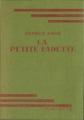 Couverture La petite Fadette Editions Hachette (Bibliothèque verte) 1947