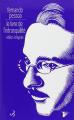 Couverture Le livre de l'intranquilité Editions Christian Bourgois  2011