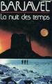 Couverture La nuit des temps Editions France Loisirs 1986