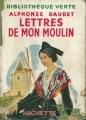 Couverture Lettres de mon moulin Editions Hachette (Bibliothèque verte) 1952