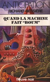 """Couverture Sydney Gordon : La Machine venue d'ailleurs, tome 6 : Quand la machine fait """"Boom"""""""