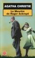 Couverture Le meurtre de Roger Ackroyd Editions Le Livre de Poche 2002