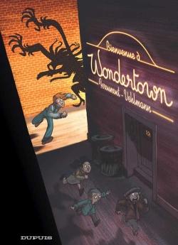 Couverture Wondertown, tome 1 : Bienvenue à Wondertown