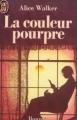 Couverture La couleur pourpre / Cher bon dieu Editions J'ai Lu 1987