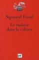 Couverture Malaise dans la civilisation Editions Presses universitaires de France (PUF) (Quadrige - Grands textes) 1995